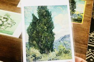 ゴッホ展糸杉